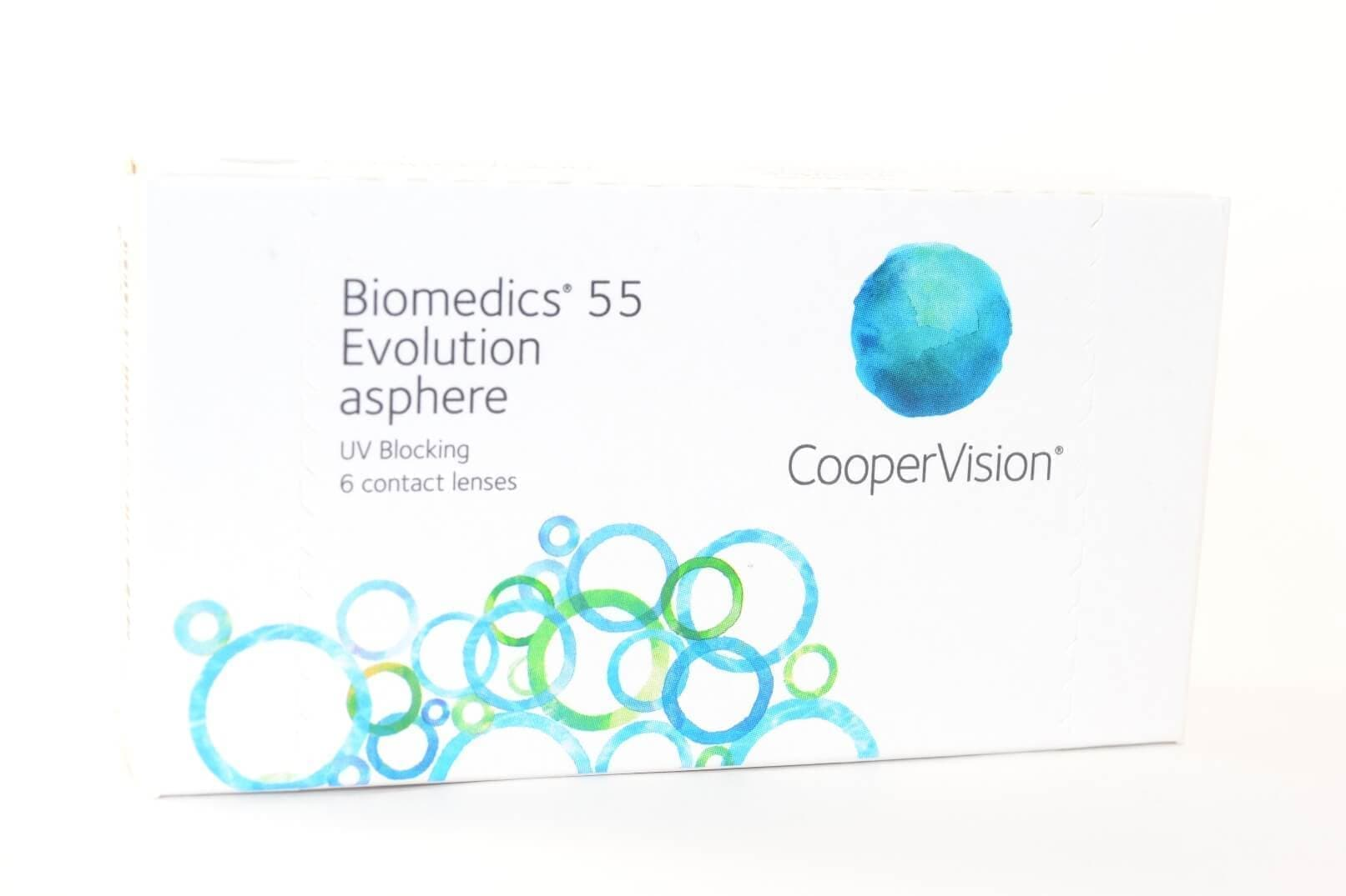 Контактные линзы Cooper Vision Biomedics 55 Evolution (6 линз)