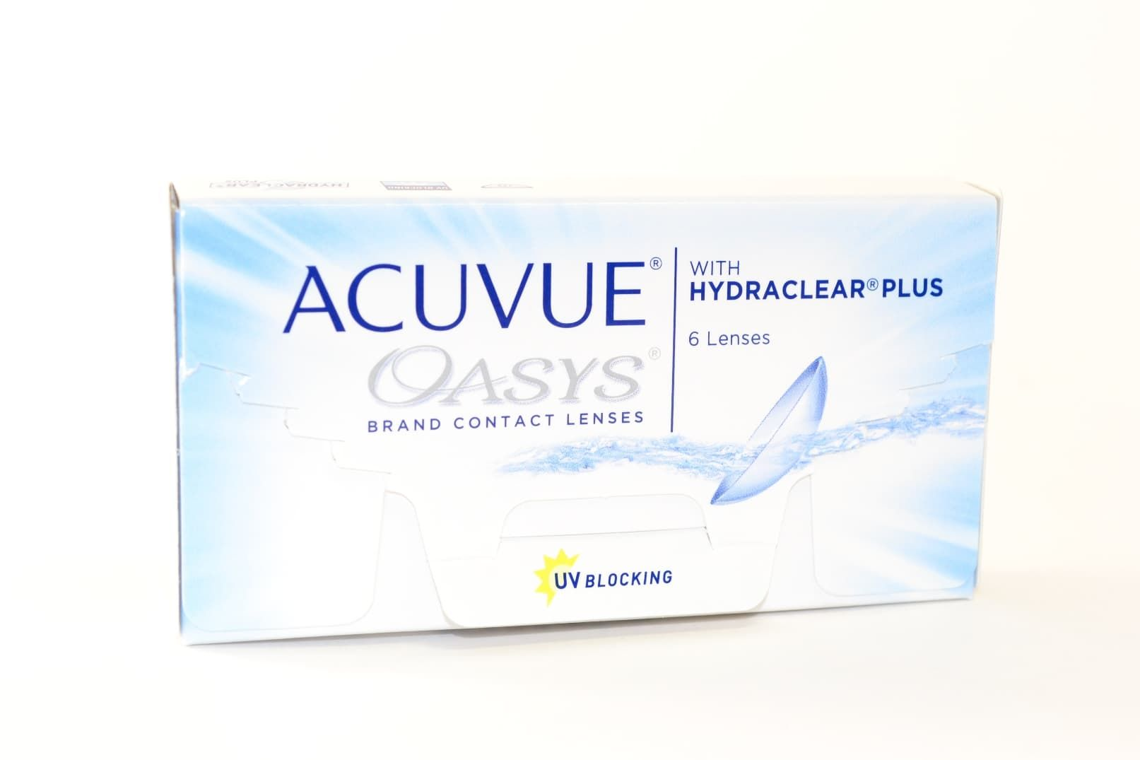 Контактные линзы ACUVUE OASYS WITH HYDRACLEAR PLUS (6 ЛИНЗ)