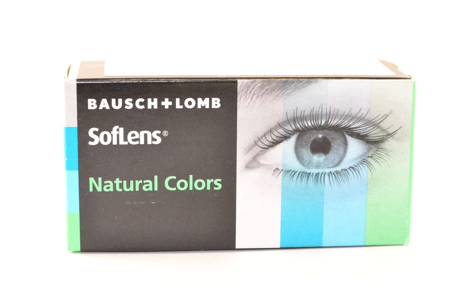 Контактные линзы SOFLENS NATURAL COLORS (2 ЛИНЗЫ)